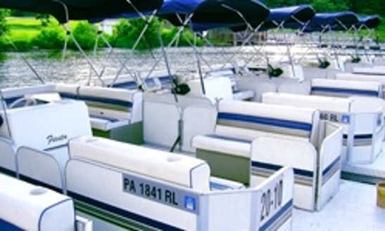 20' Pontoon Rental In Muddy Creek, Pennsylvania