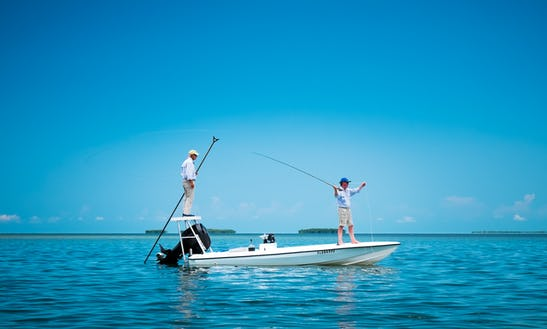 Fishing Charter On 17' Maverick Flats Skiff With Captain Mike In Key West, Florida