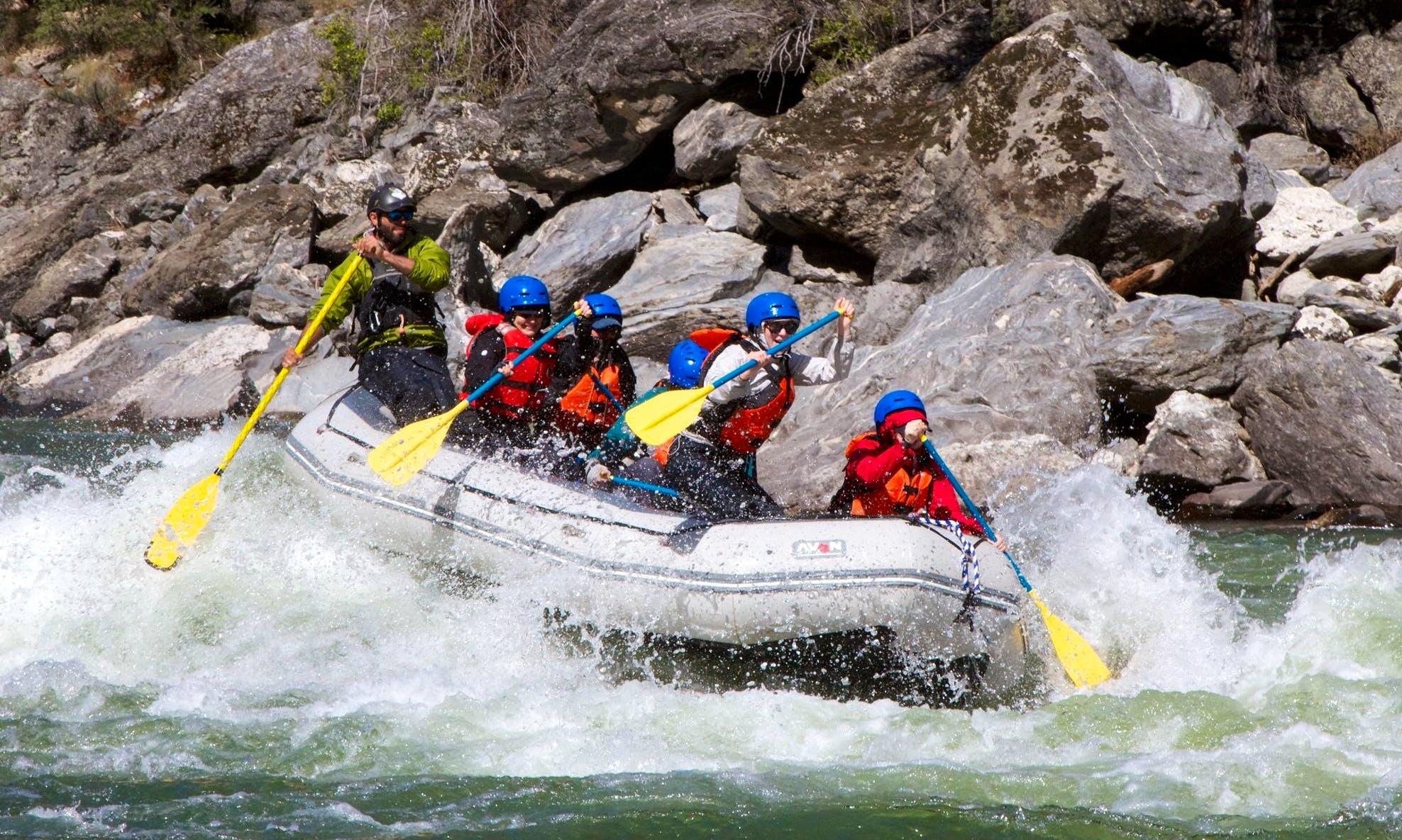 Wild River Rafting Trips in Idaho