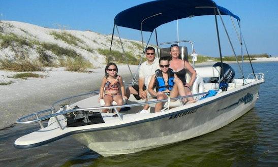 Motor Boat Cruise In Gulf Breeze