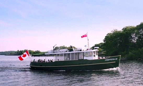 The Chippewa Iii Cruises In Seguin, Ontario