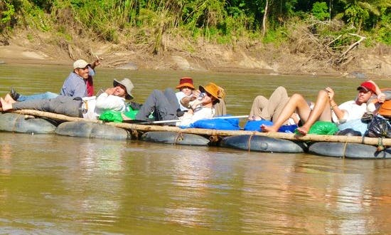 Jungle Rafting Tour In Bolivia