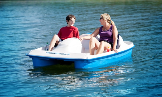 2 People Paddle Boat Rental In Clinton, New Jersey