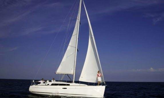 Enjoy 34 ft Cruising Monohull Beneteau Oceanis 34 Charter in Metung, Victoria