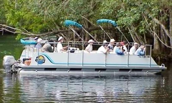 River Pontoon Tours In Silver Springs, Florida