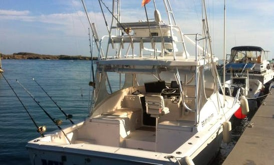 Enjoy Fishing On 36 Feet Sport Fisherman Boat In Puerto Plata, Dominican Republic