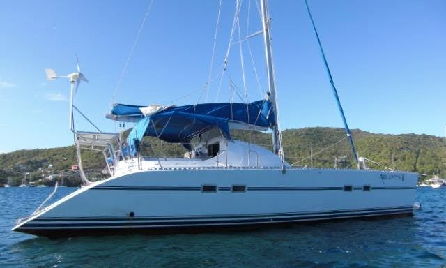 40 ft Cruising Catamaran Charter for 4 People in Port Elizabeth, Saint Vincent and the Grenadines