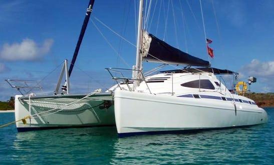 Catamaran Island Spirit 401 For Charter In Mumbai