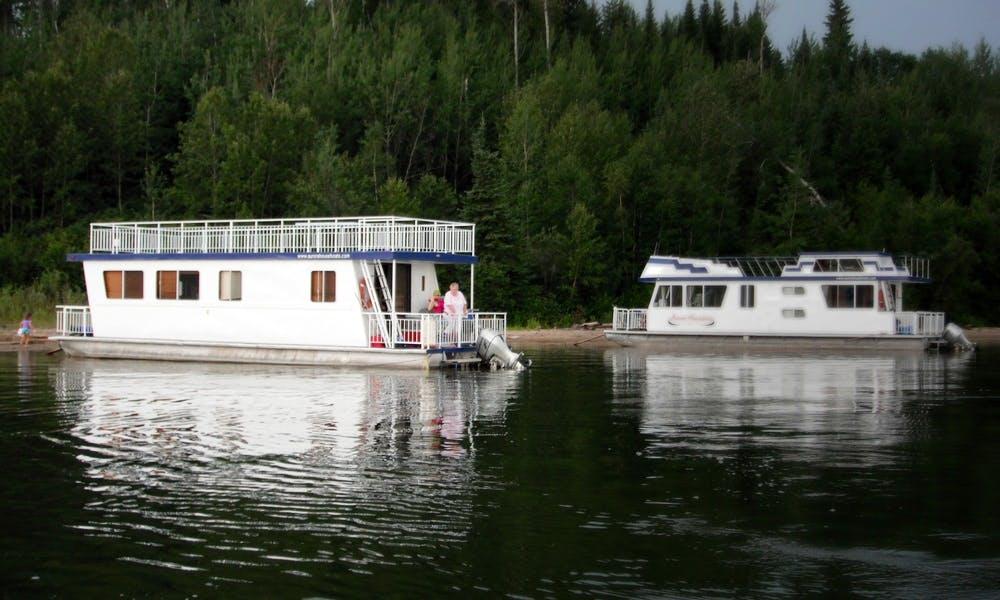Unique Houseboat Vacation Rental in Saskatchewan, Canada