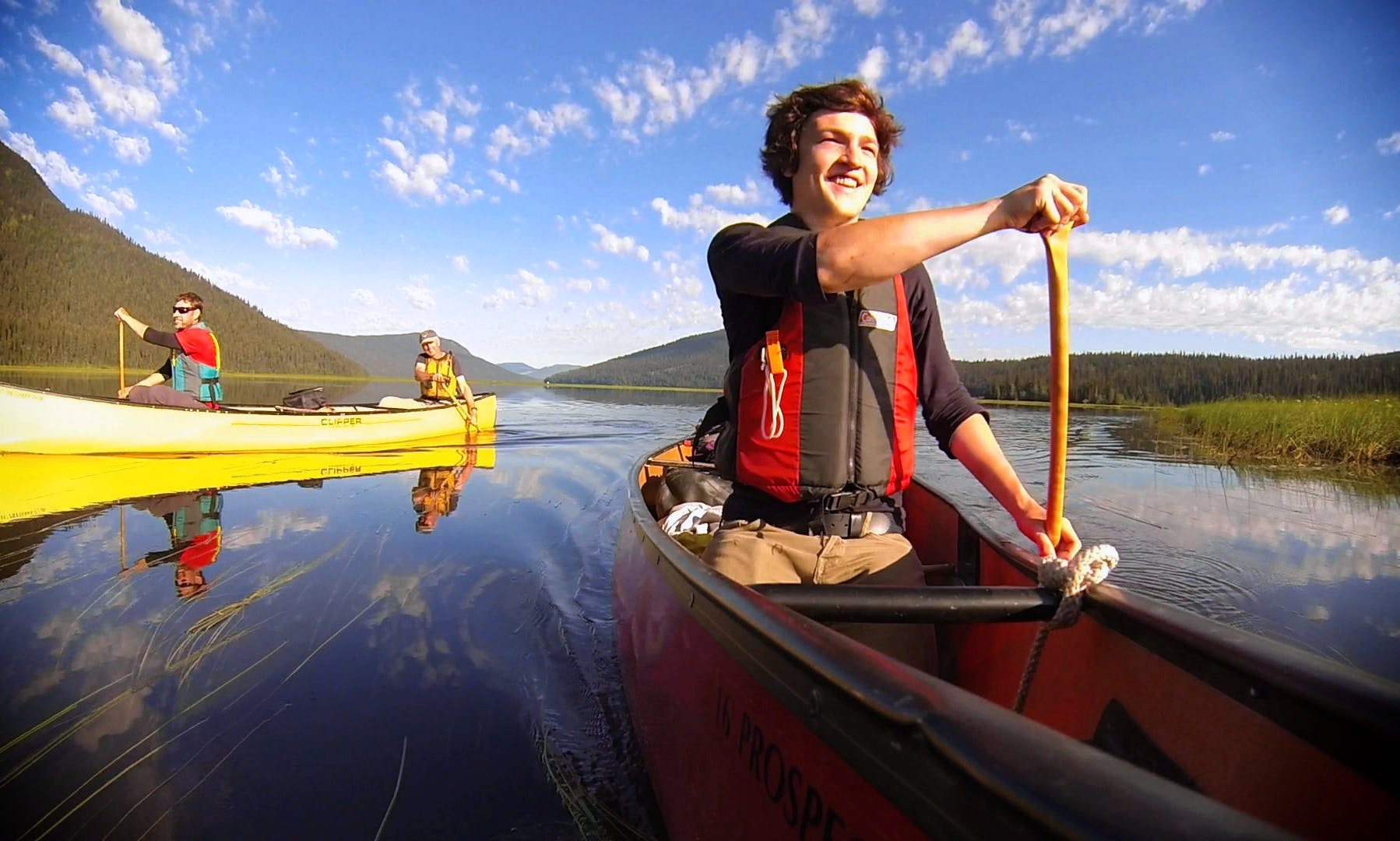 Hire a Branded 3 Person Canoe  in Saint Peter's, Nova Scotia