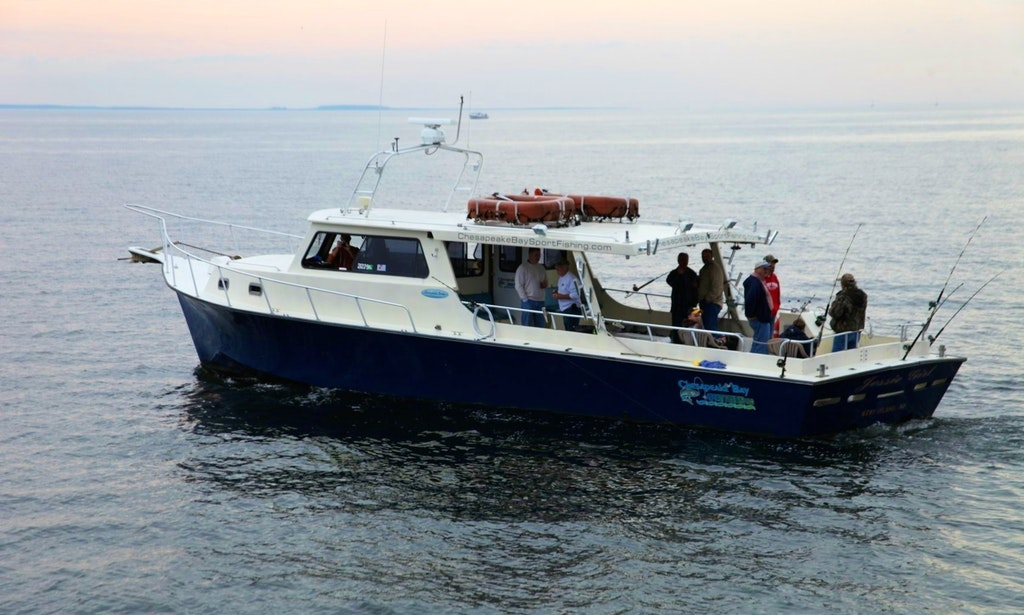 52ft jessie girl fishing charter in virginia beach for Head boat fishing virginia beach