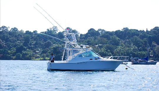 35' Sport Fisherman Fishing Charter In Puntarenas, Costa Rica