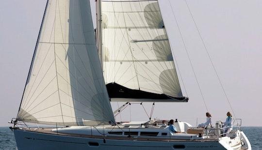 Charter Sun Odyssey 42i Sailing Yacht In Greece
