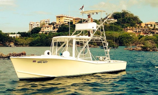 31' Sport Fishing Boat In Puerto Carrillo