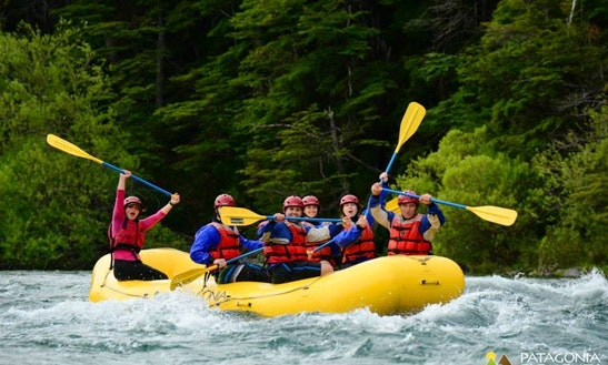 White Water Rafting Trips With Professional Guide In Futaleufu, Chile