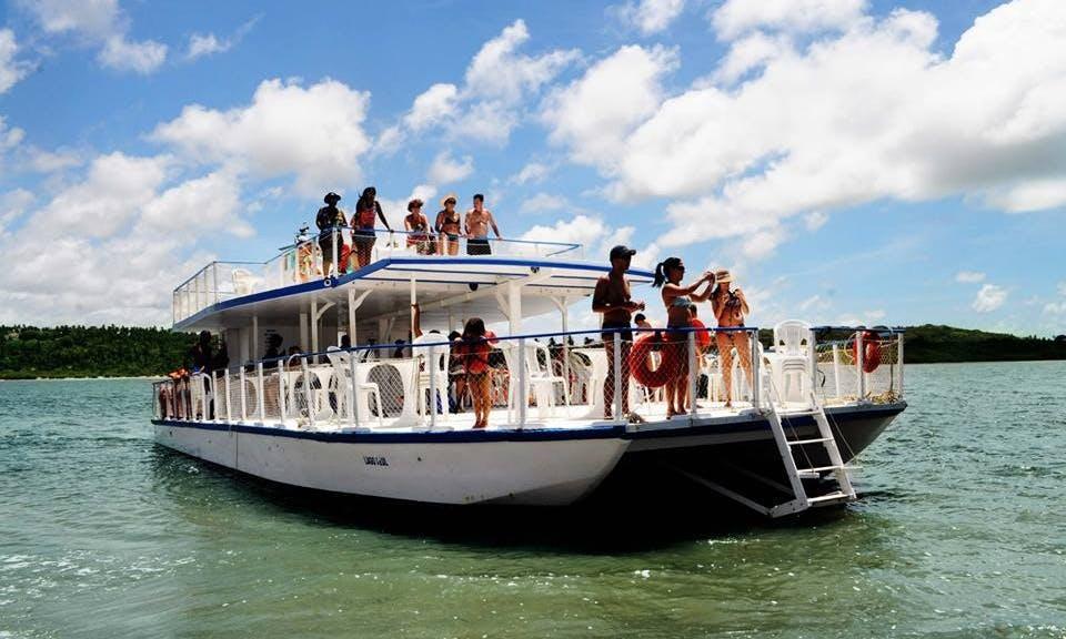 Power Catamaran Charter in Recife, Brazil
