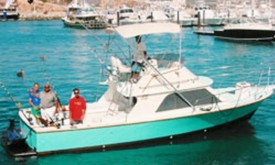 32ft Blackfin Sport Fisherman In Cabo San Lucas, Mexico