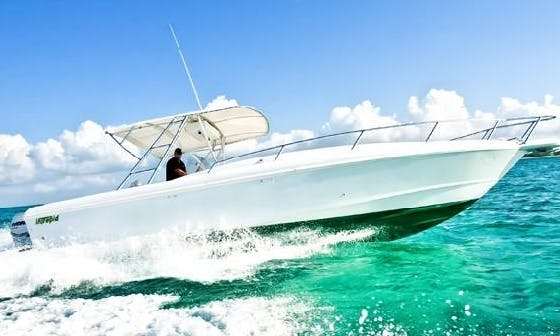 36' Intrepid Boat Charter in Cayman Islands