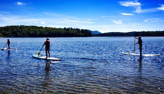 Sup Rental And Yoga Lessons In North Elba