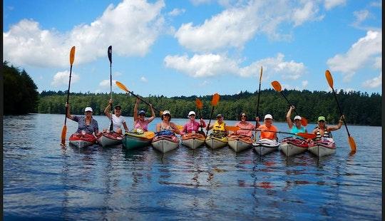 Kayak Rental And Self Guide Trips In North Elba