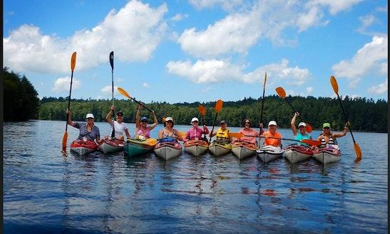 Kayak Rental & Self Guide Trips In North Elba