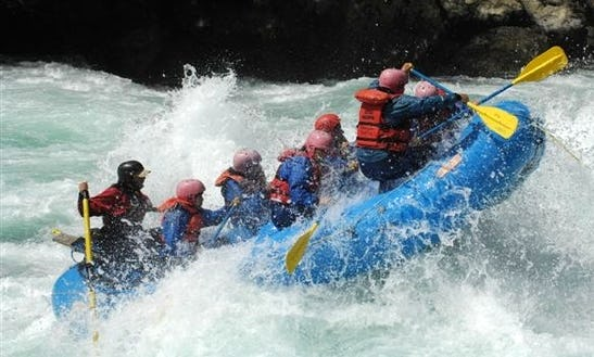 Power And Traditional River Rafting Trips In Chile