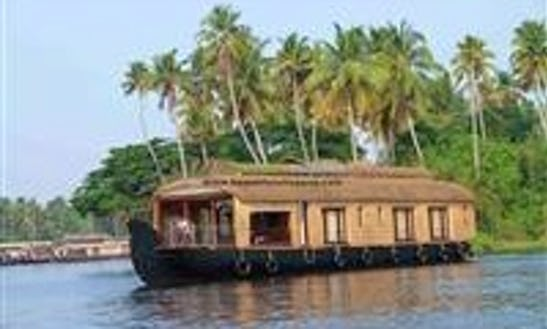 Daily Houseboat Cruise For 4 Person In Alappuzha, India