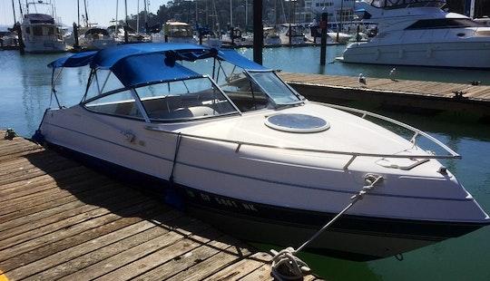 Four Winns Sundowner Boat Rental In Sausalito