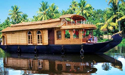 Book One Amazing Night aboard 2 Person Houseboat in Kerala, India