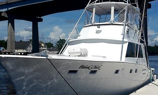 Fishing Charter On 53ft Blank Check Yacht In North Myrtle