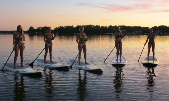 Stand Up Paddleboard Rental In Fontana Lake