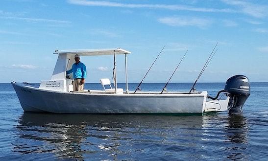 24' Offshore Fishing Boat Charter In Cedar Key