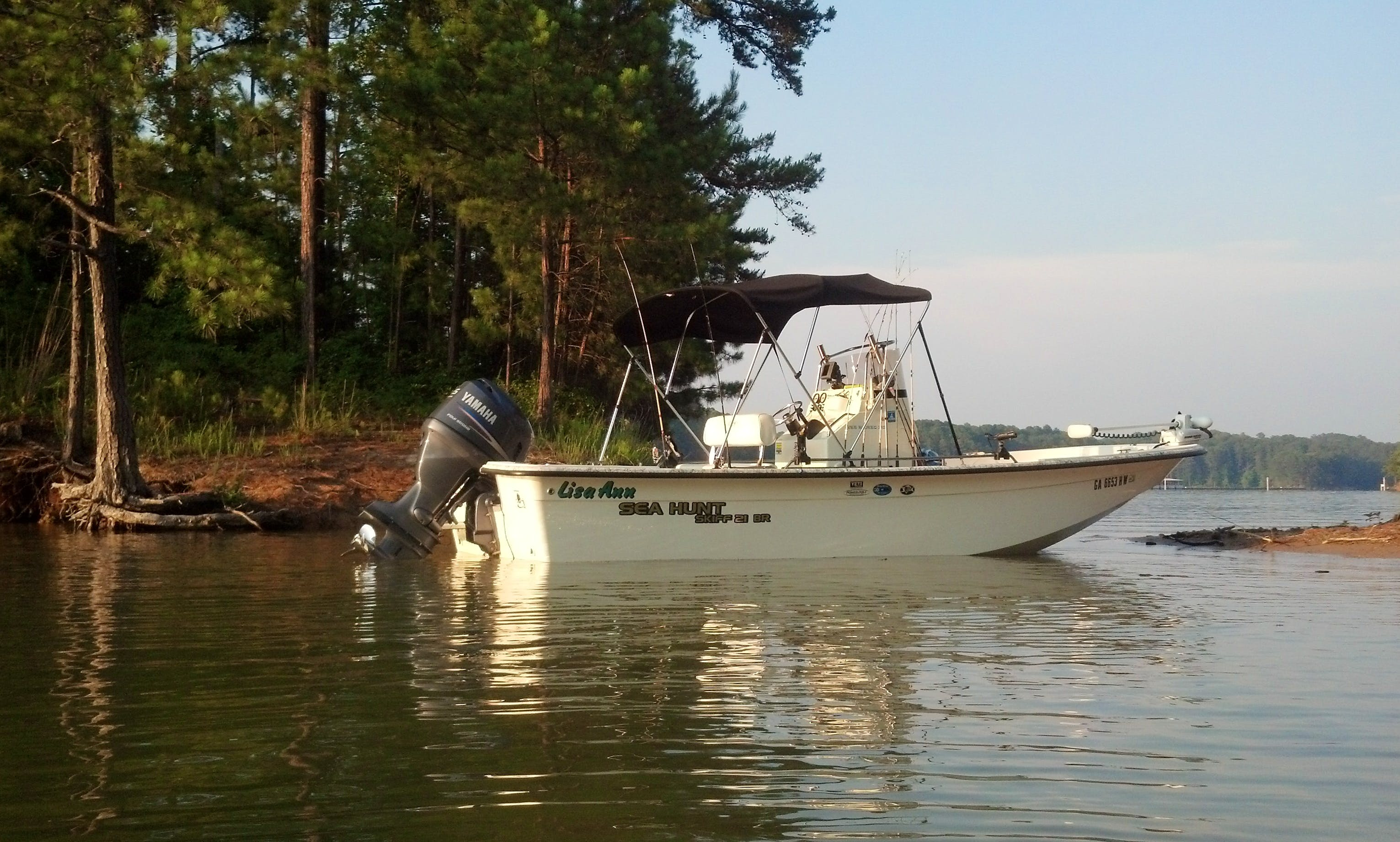 21' Fishing Boat In Cartersville