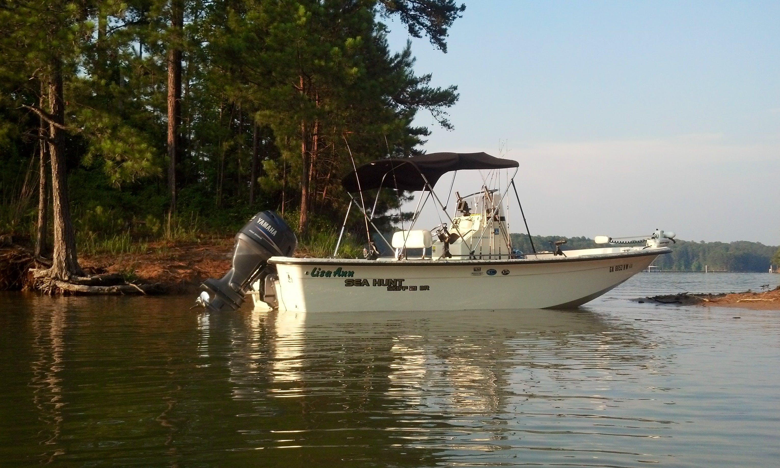 21' Fishing Boat In Cartersville