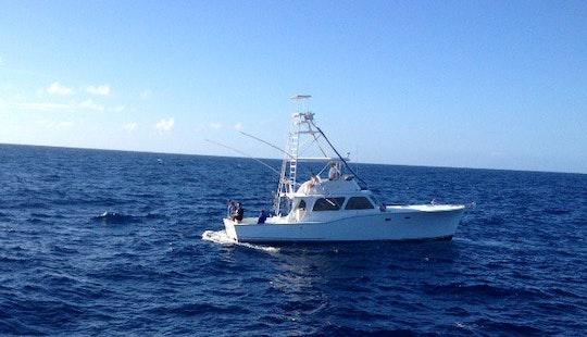46' Sport Fisherman Fishing Charter In Tavernier, Florida