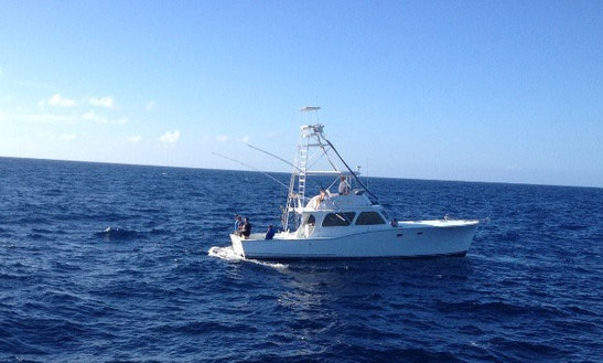 46' Sport Fisherman Fishing Charter In Tavernier, Florida