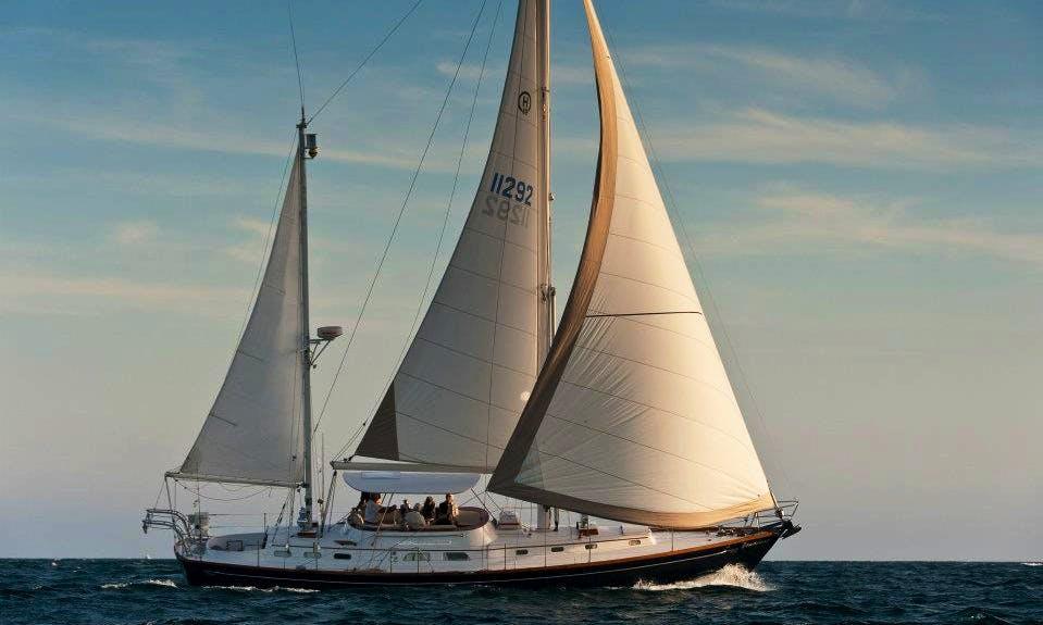 49' Cruising Monohull Bandolero Charter in Fort Lauderdale with  Captain.
