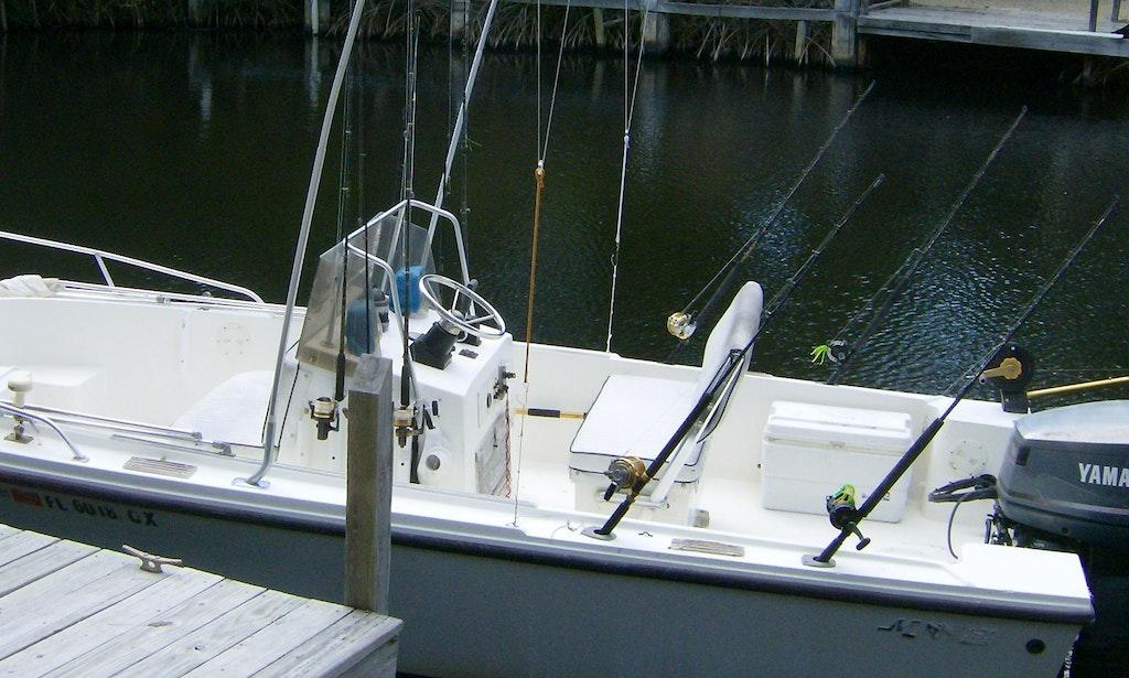 Key largo fishing charter on mako 20 open fisherman boat for Key largo fishing charters