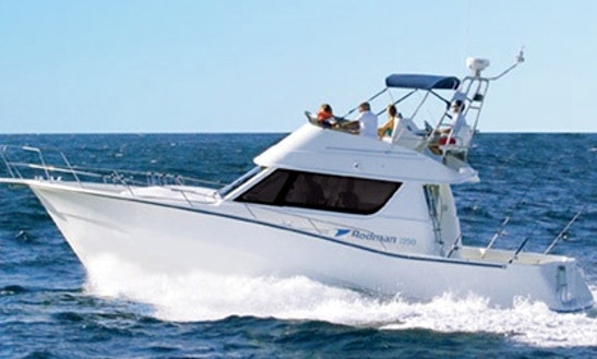 Sport Fisherman Yacht Charter In Cambrils, Spain For Up To 6 Anglers