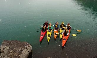 Sea Kayaking Tour on Inca Lagoon, Chile, Andes