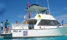 AM 2 tank boat dive package 3 days or more