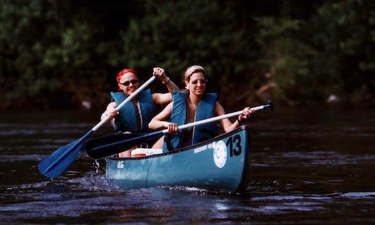 Canoe Trip In Smithfield, Pennsylvania