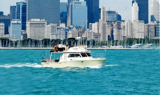 Amazing Party Cruising Trips on 34 ft Cruiser in Chicago, Illinois