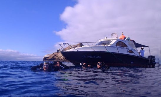 Dive Boat In Galapagos