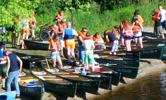 Canoe Trips In Big Rapids