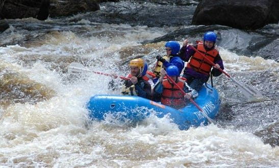 White Water Rafting In Athelstane