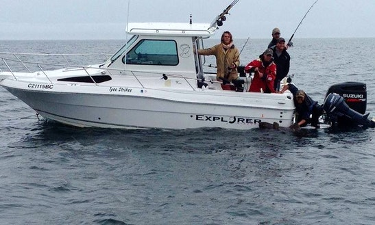 Cuddy Cabin Fishing Charter In Sooke, Canada
