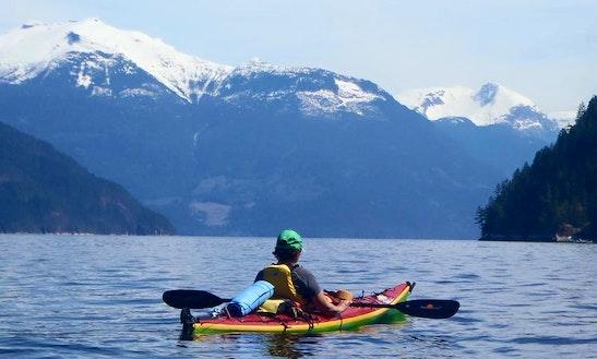 Single Kayak Rental In West Vancouver, Canada