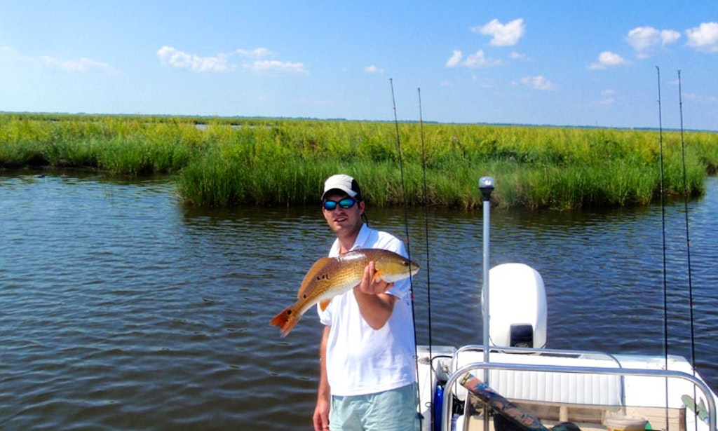 Center console fishing charter in dauphin island alabama for Alabama fishing charters