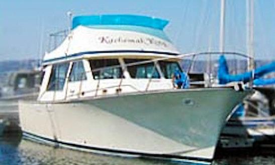 37' Head Boat Charter In Homer, Alaska